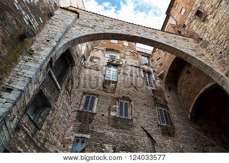 historic center of Perugia Perugia Umbria Italy