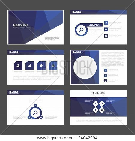 Purple presentation templates Infographic elements flat design set,annual report,flyer,brochure templates set