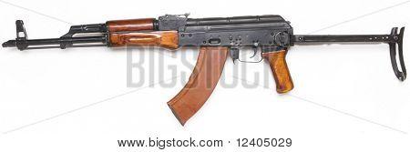 Bekannte AK-47 Kalaschnikow-Sturmgewehr.