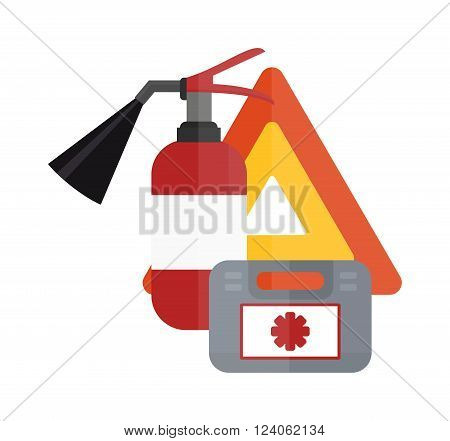 Various car parts sign equipment accessories, car equipment auto tools icons set vector. Car drive service elements concept with flat icons and mechanic car equipment vector.