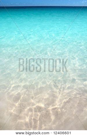 Caribbean turquoise sea beach shore