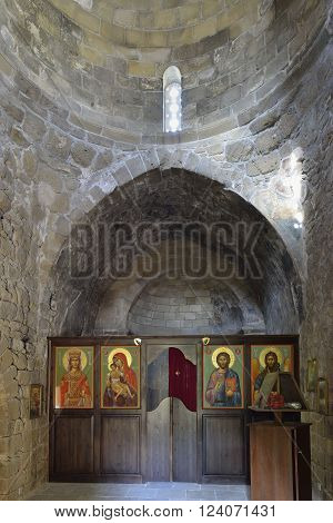 15th century Agia Aikaterini Church Interior