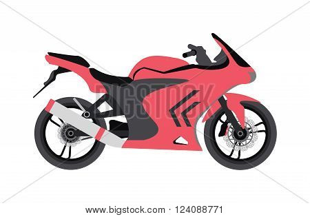 Sport bike silhouette and sport vencle fast bike race road silhouette vector. Extreme transport bike vector. Sport bike silhouette transport power vector illustration.