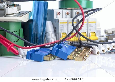 Electrical Equipment, Switches And Clamps For Wires