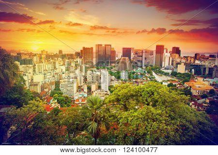Financial Center Of Rio De Janeiro