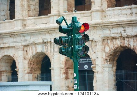 rome italy coliseum monument of architecture, spring photos
