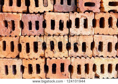 Orange brick brick brick wall brick texturebrick pattern.