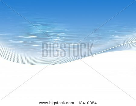 Abstract fresh water background