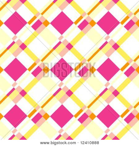 Seamless plaid pattern in light colors