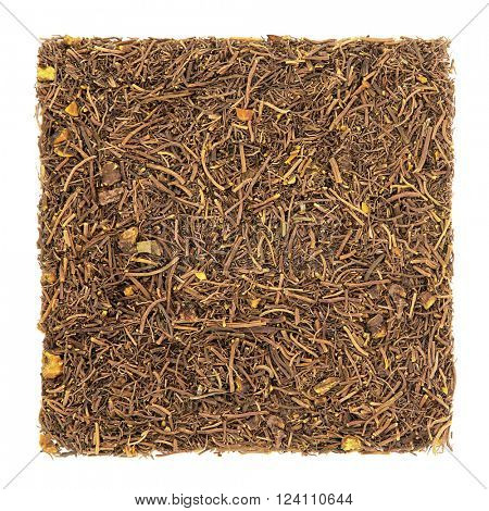 Golden seal root herb used in natural alternative herbal medicine over white background. Hydrastis canadensis.