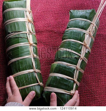 Vietnamese Food, Traditional Food, Vietnam Banh Tet
