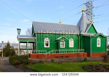 The temple in honor of the monkmartyr Athanasius abbot of Brest St. Athanasian Monastery Brest Belarus