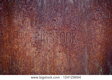 Rusty Iron Surface