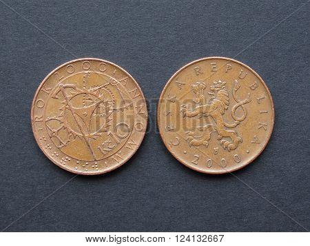 10 Czech Korunas Coin