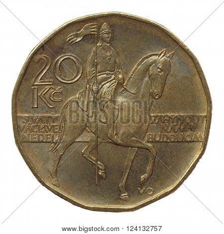 Czech Korunas Coin