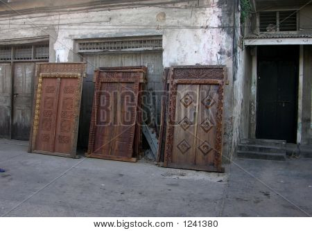 Carved Doors For Sale