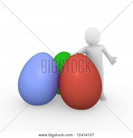 3D Human Easter Egg