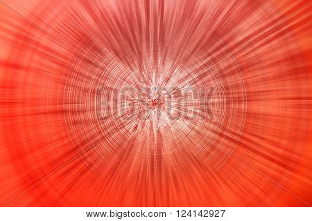 red lines forming circles - shiny background