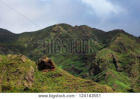 Beautiful Tenerife Landscape - Anaga Mountains