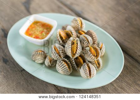 Cockles Seafood Boiled