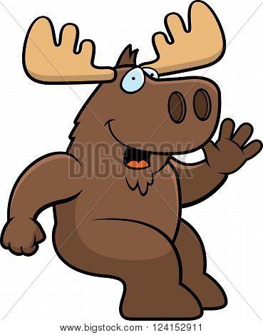 Moose Sitting