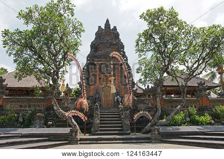 Pura Taman Saraswati, sights of Ubud, Bali, Indonesia, Asia