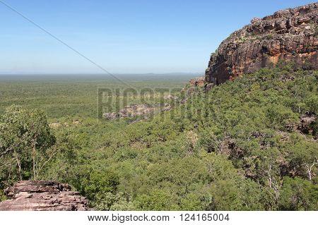 Landscape of the Kakadu National Park, Australia