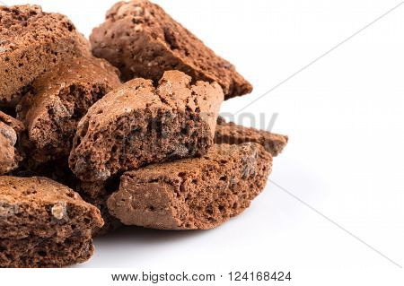Cantucci With Chocolate Pieces