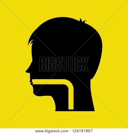 human profile design, vector illustration eps10 graphic