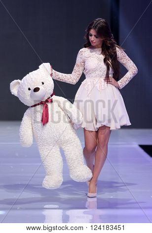 Sofia Fashion Week Teddy Bear