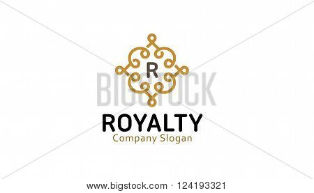 Royalty Creative And Symbolic Logo Design Illustration