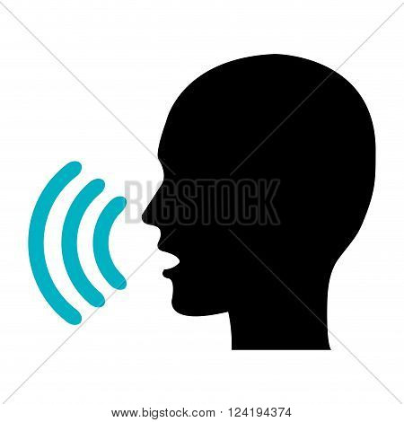 voice concept design, vector illustration eps10 graphic