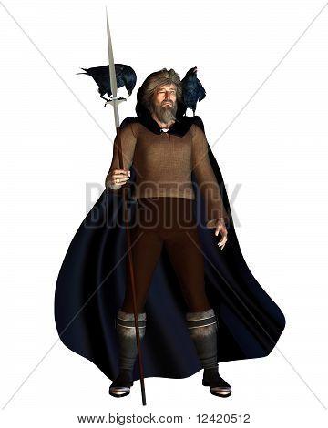 Odin the Wanderer - portrait