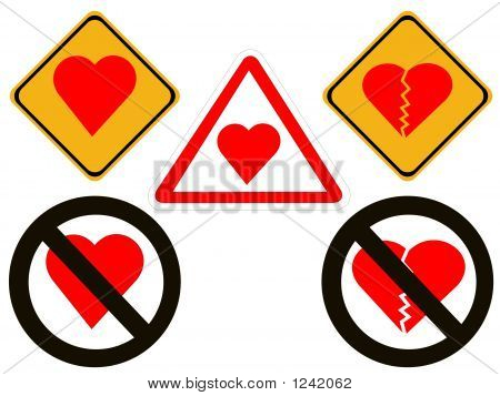 Heartbreak And Love Warning Signs