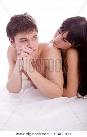 Couple In The Bed