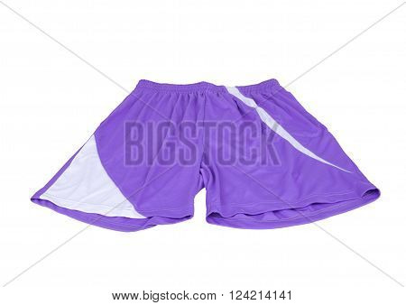 Sport Shorts On A White