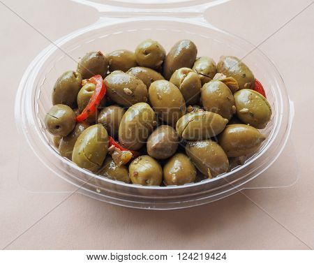 Green Olives Vegetables