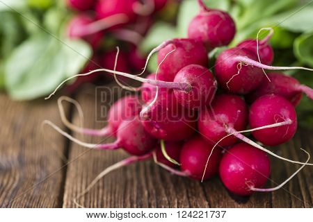 Portion Of Radishes