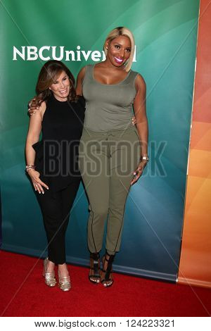 LOS ANGELES - APR 1:  Melissa Rivers, Nene Leakes at the NBC Universal Summer Press Day 2016 at the Four Seasons Hotel on April 1, 2016 in Westlake Village, CA