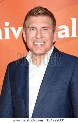 LOS ANGELES - APR 1:  Todd Chrisley at the NBC Universal Summer Press Day 2016 at the Four Seasons Hotel on April 1, 2016 in Westlake Village, CA