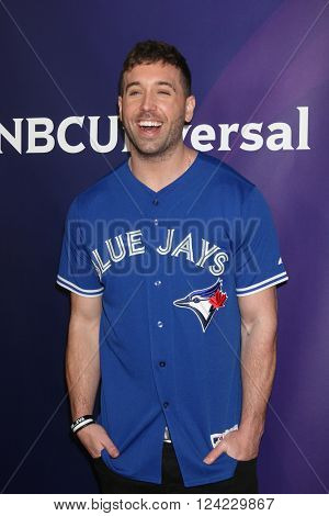 LOS ANGELES - APR 1:  Mike Stud at the NBC Universal Summer Press Day 2016 at the Four Seasons Hotel on April 1, 2016 in Westlake Village, CA