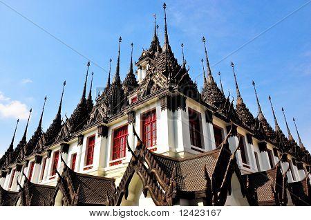 Metal palace, Thailand