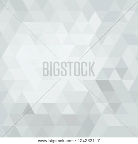 abstract gray background triangulation. Bright abstract background