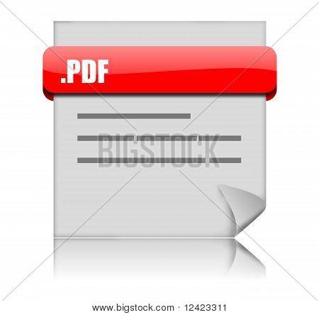 pdf page icon