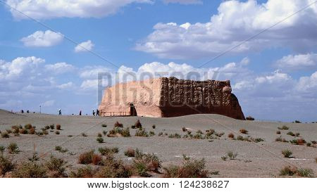 YumenGuan, also know as YuMen Pass or Jade Gate Pass is located at DunHuang, GanSu, China