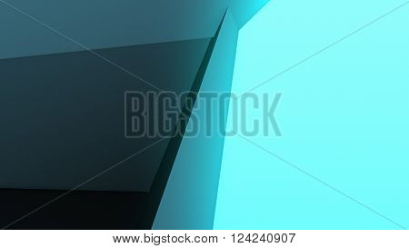 3D Illustration, Abstract Composition