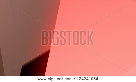 3D Illustration, colorful abstract composition made from a huge three-dimensional objects  ** Note: Visible grain at 100%, best at smaller sizes