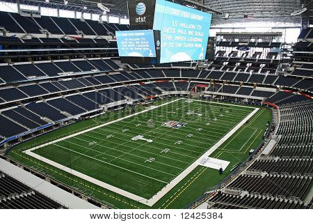 Cowboys Stadium View From Luxury Suite