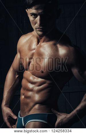 Handsome Athletic Sexual Young Guy