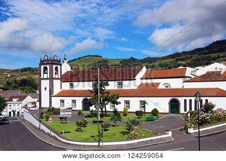 Church of Our Lady of the Angels (Igreja de Nossa Senhora dos Anjos) in Agua de Pau, Sao Miguel island, Azores, Portugal